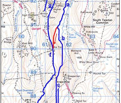 Walk: Belstone to Hangingstone Hill