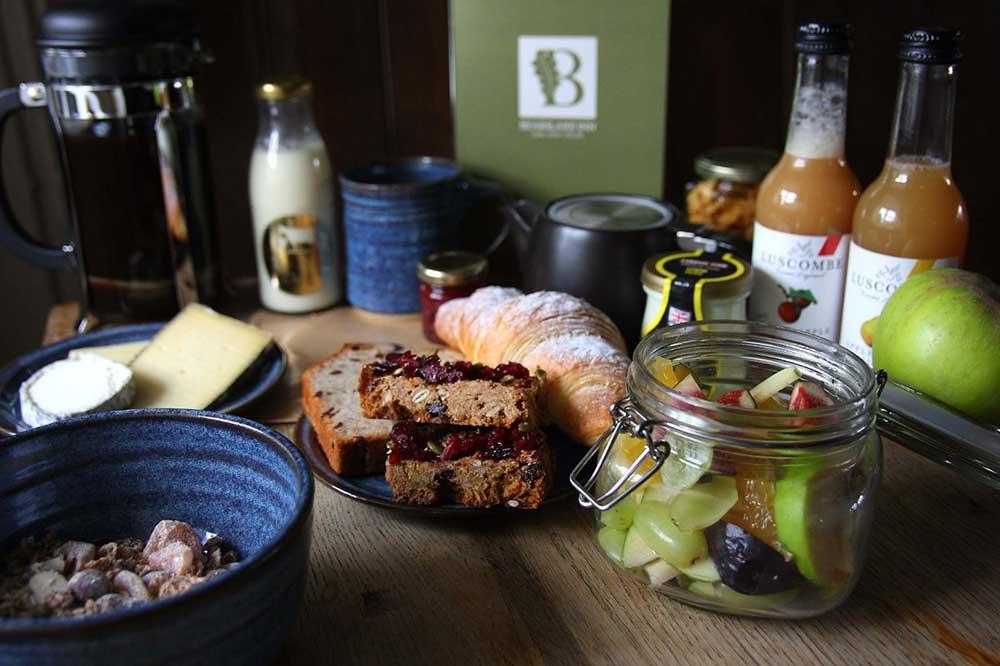 Luxury Dartmoor Breakfast hamper