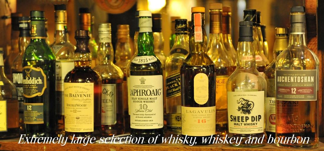 Selection of spirits