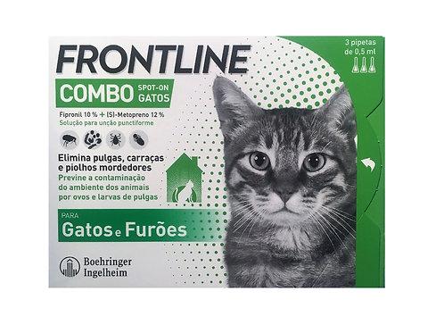 Frontline Combo Gatos - pulgas, carraças e piolhos