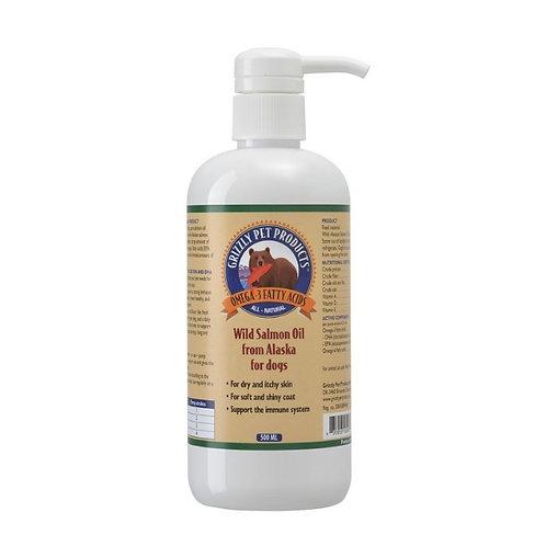Óleo de Salmão Grizzly - 500 ml
