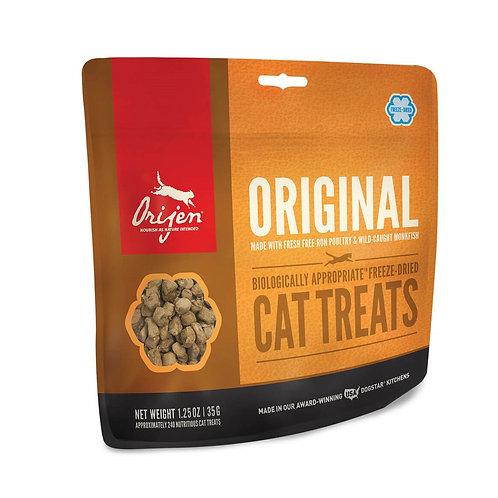 Orijen Original - Snacks crus liofilizados para gato