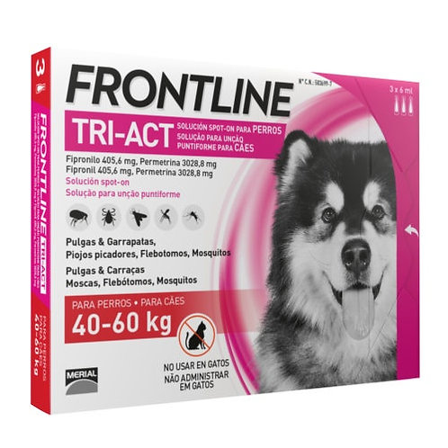 Frontline Tri-Act 40 - 60 Kg
