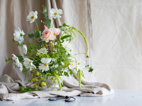 Create a Floral Centrepiece with a Kenzan