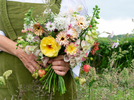 Slow flowers. The importance of buying local and the virtues of naturally-grown flowers.