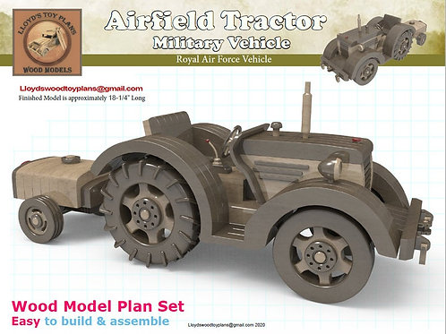RAF Airfield Tractor