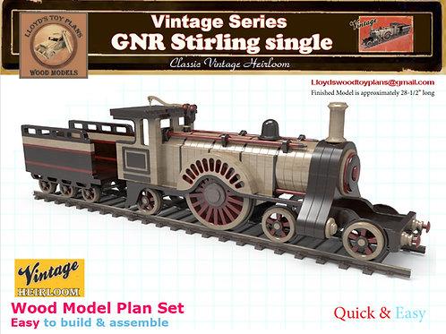 GNR Stirling single