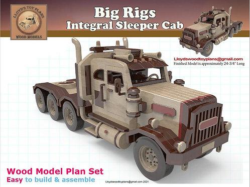 Integral Sleeper Cab