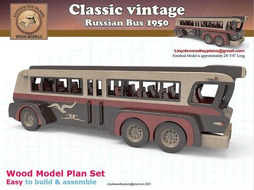 Russian Bus 1950