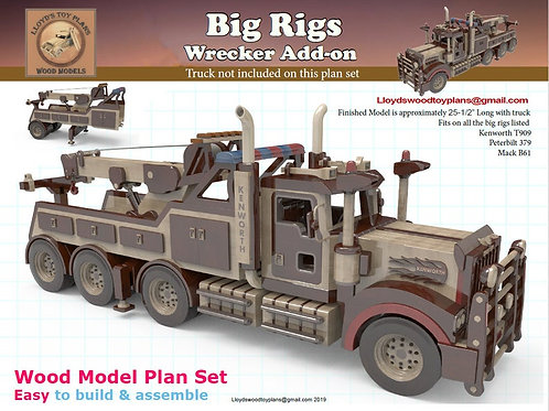 Wrecker add-on for the Big rigs