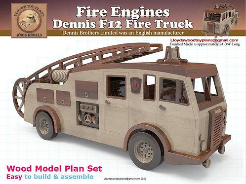 Dennis F12 Fire truck