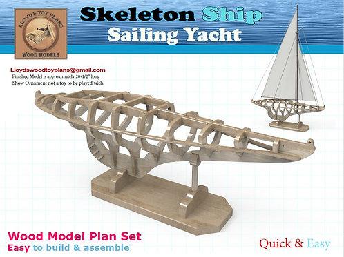 Skeleton Sailing Yacht