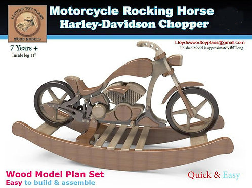 Motorbike Rocking chopper