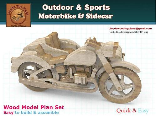 Motorbike & Sidecar