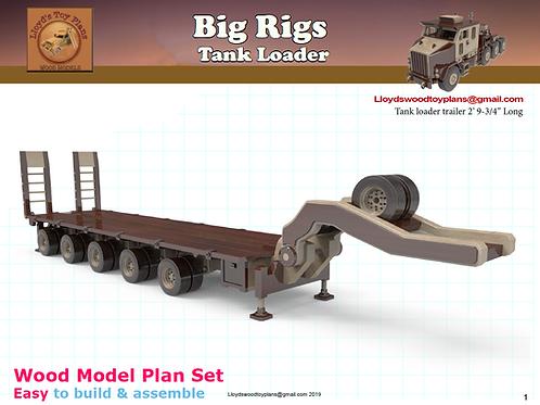 Tank loader trailer