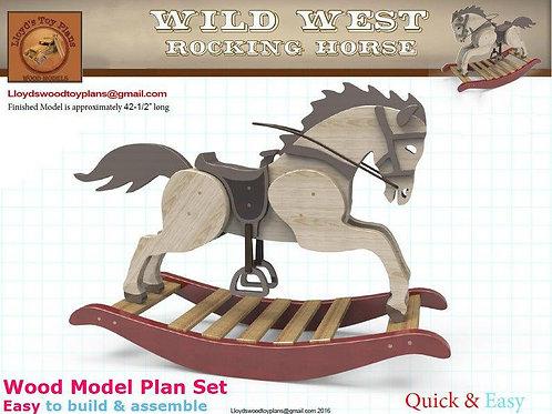 Wild West Rocking Horse