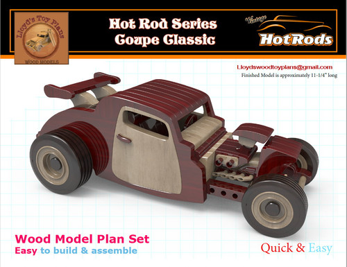 wooden hot rod plans