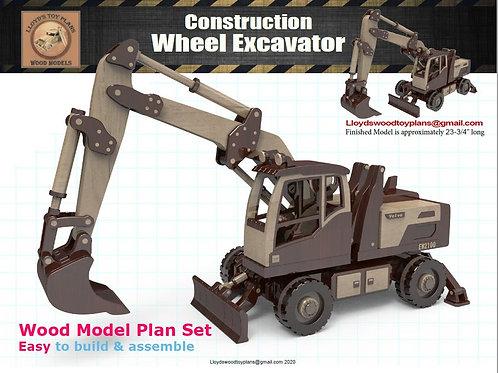 Wheel Excavator