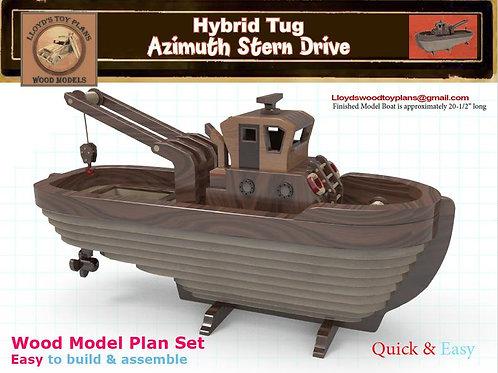 Azimuth Stern Drive Tug