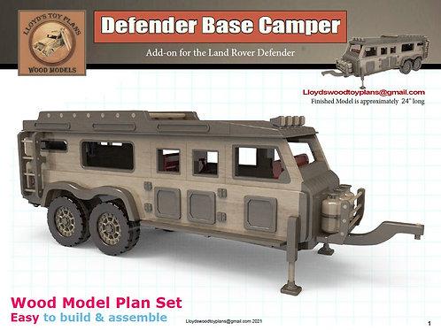 Defender Base Camper