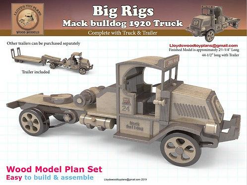 Mack bulldog 1920