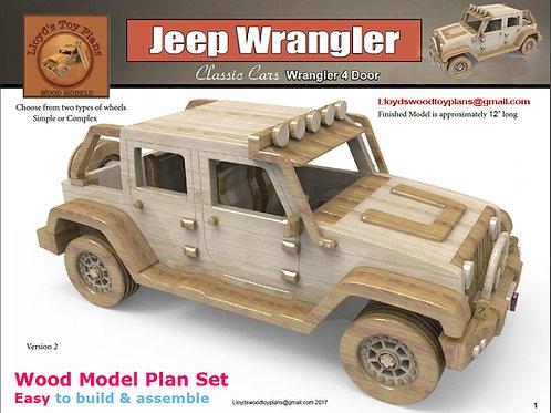 Jeep Ranch Wrangler 4 door