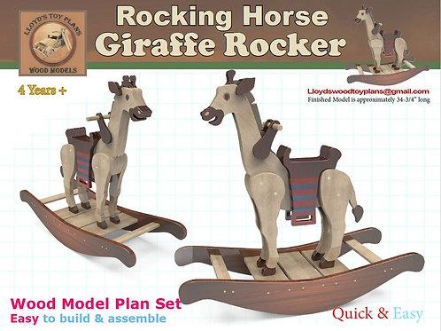 Rocking Horse Giraffe