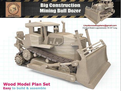 Mining Bull Dozer