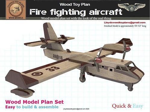 Amphibious Fire Fighting Aircraft