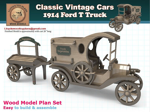 Ford T Truck 1914