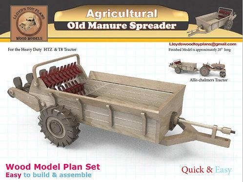 Old Manure Spreader