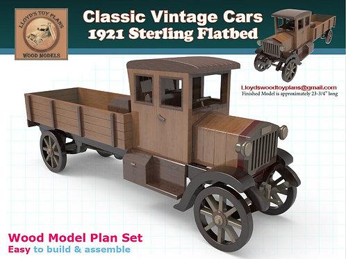 Sterling Flatbed Truck 1921