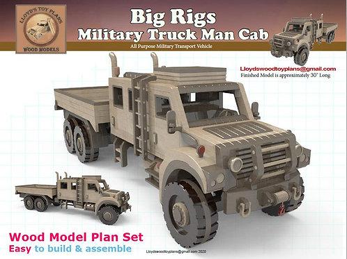 Military Truck Man Cab