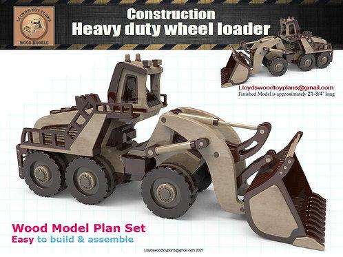 Heavy duty wheel loader