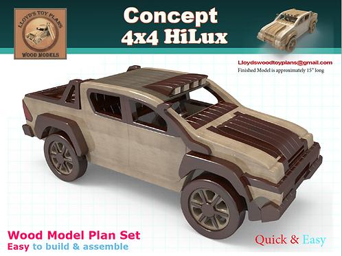 Toyota's HiLux Tonka