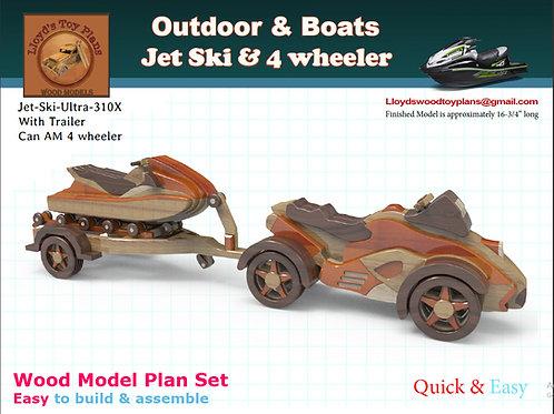 Jet Ski & 4 wheeler