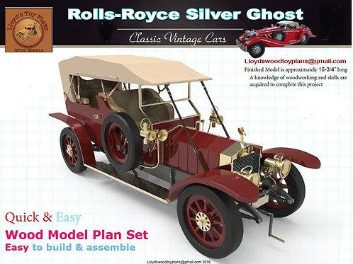 Rolls Royce Silver Ghost (1907)