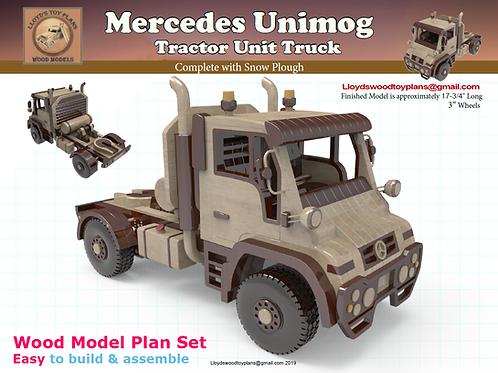 Mercedes Unimog Tractor Unit