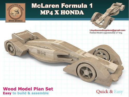 MP4 X HONDA