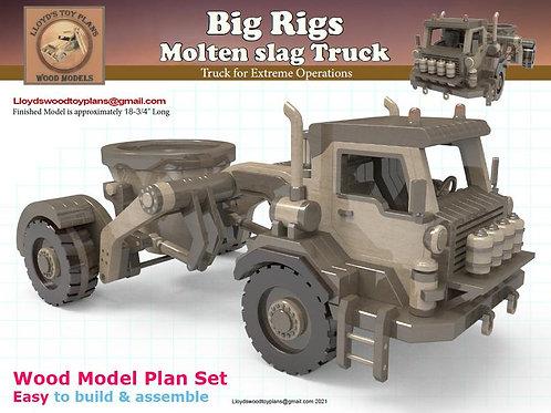 Molten slag Truck