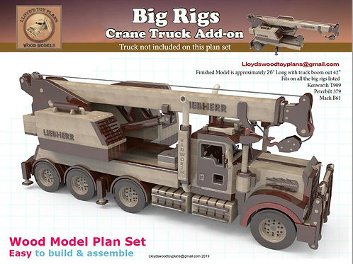 Crane truck add-on for the Big rigs