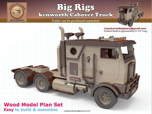 Kenworth Cabover Semi Trucks