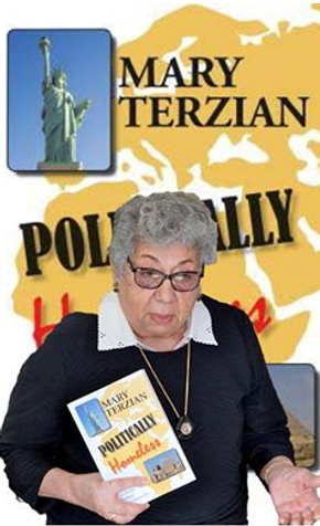 Politically Homeless by author Mary Terzian