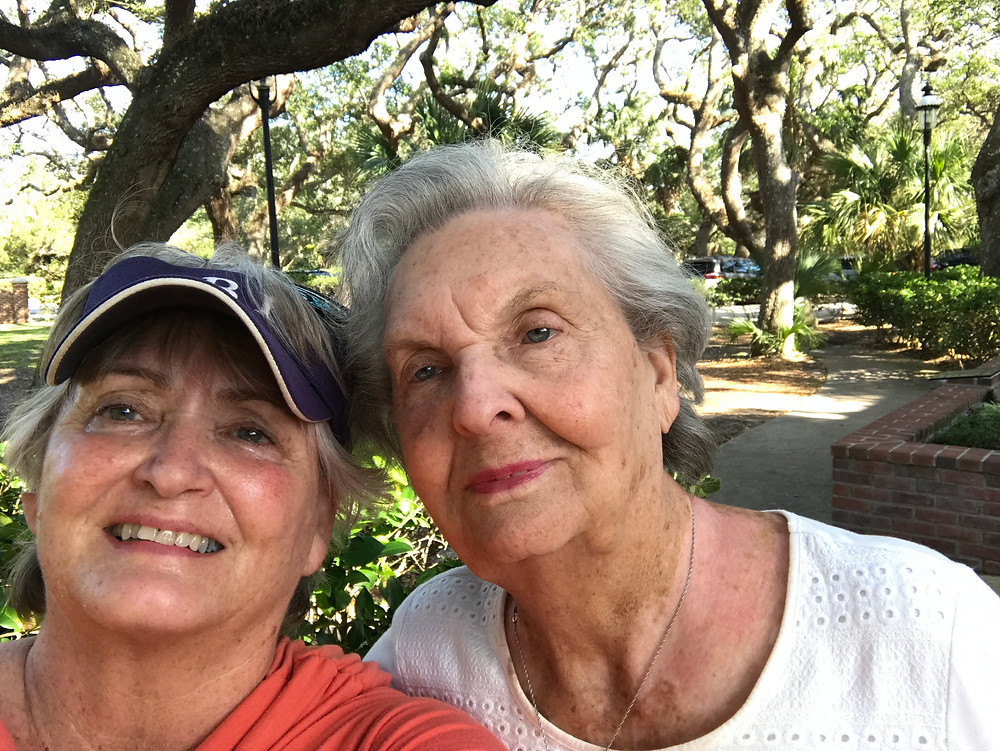 Me & Mom doing a selfie in St. Augustine, FL