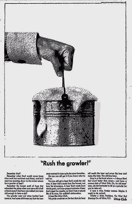 primeiro Growler