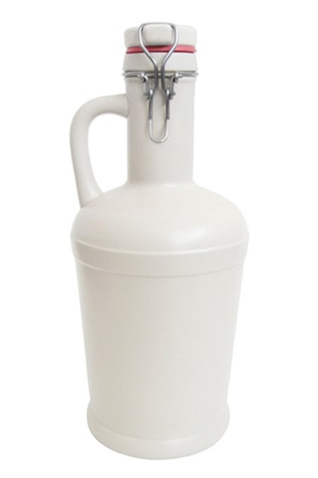 Growler Tradicional 1L Branco Liso
