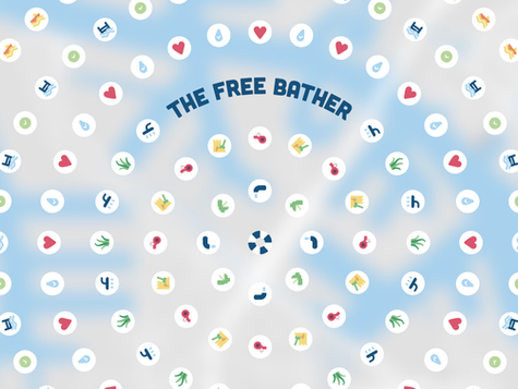 the free bather