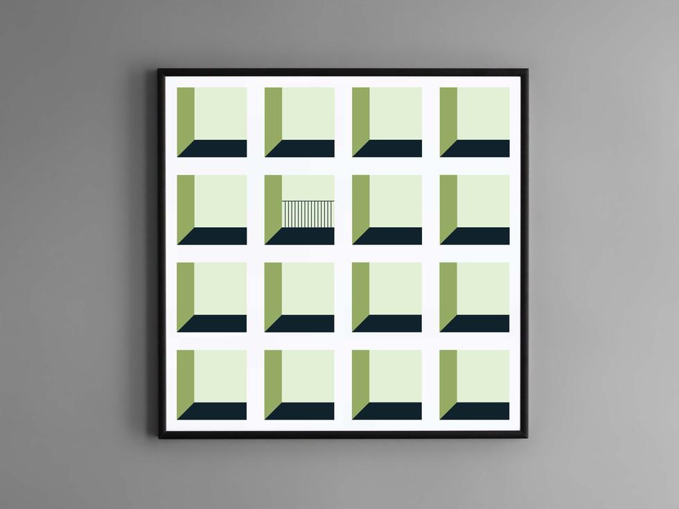 print carrés 5