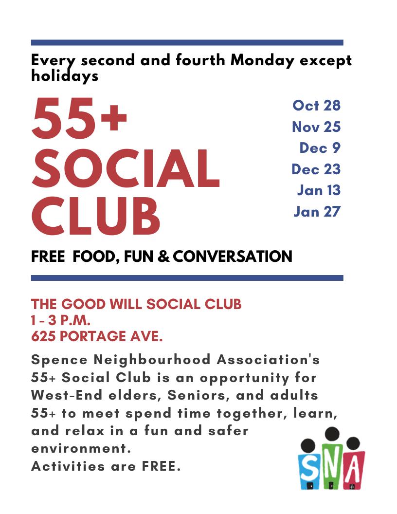 55+ Social Club