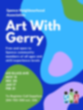 art with gerry poster Nov 2019 to Feb 20